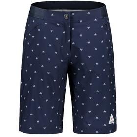 Maloja AnemonaM. Printed Multisport Shorts Dames, night sky heart